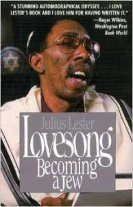 cover of lovesong becoming a jew black history books