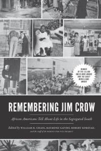 cover of remembering jim crow a black history book