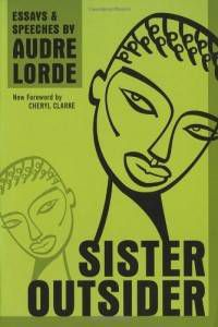 cover of sister outsider a black history book