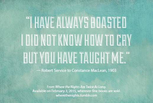 robert service on love