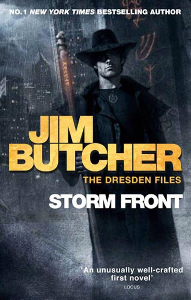 Jim Butcher Dresden Files Storm Front