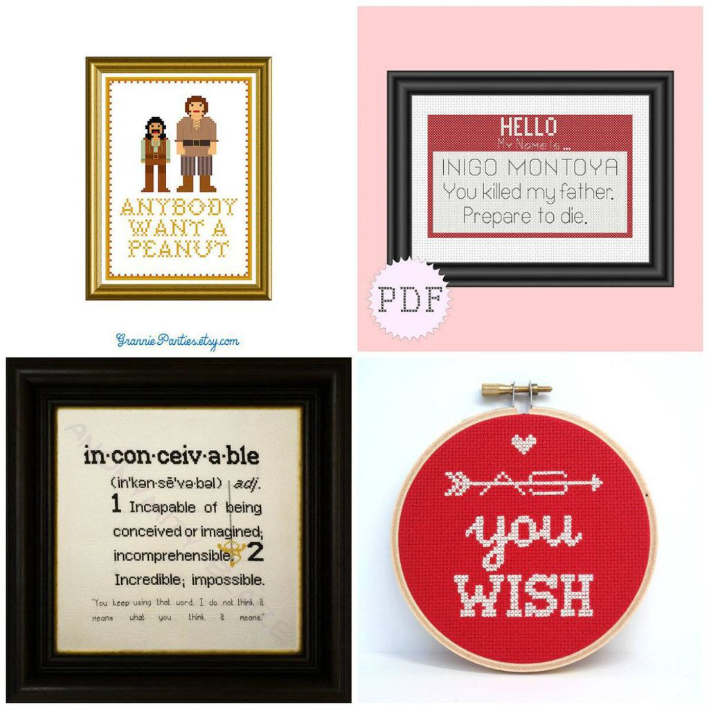 The Princess Bride Cross Stitch and Embroidery
