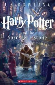 harry potter and the sorcerors stone by j k rowling