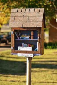 Little Free Library in Fort Dodge, Iowa