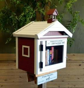 Little Free Library Original Structure