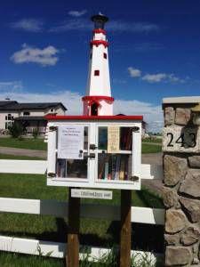 Little Free Library in Alberta, Calgary