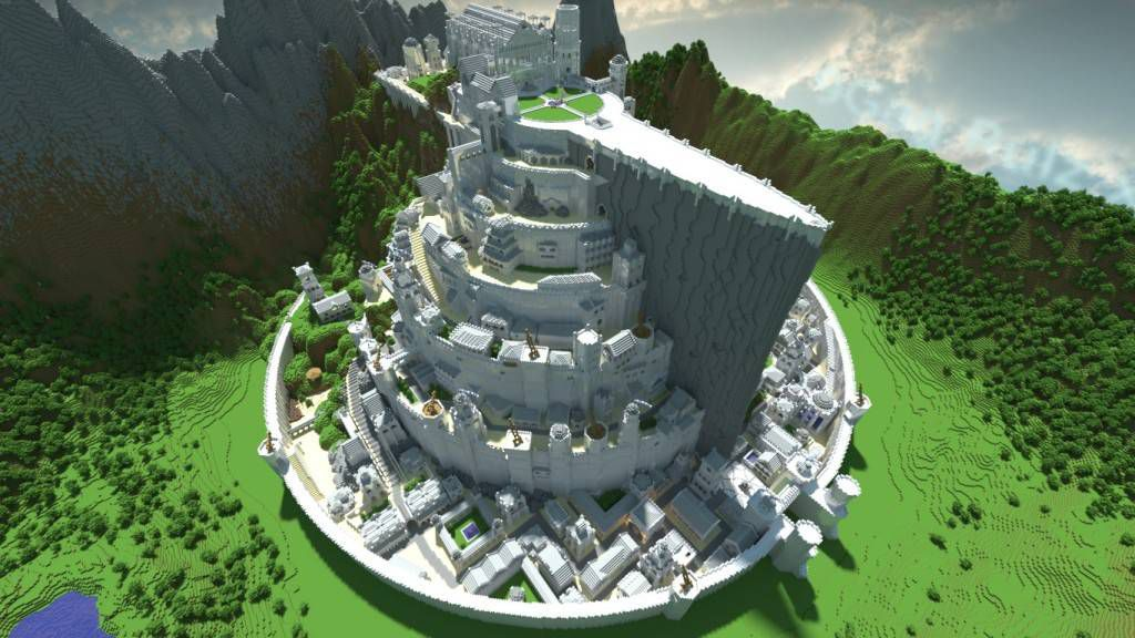 Minas Tirith Minecraft