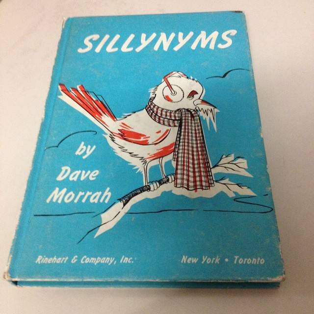 Sillynyms by Dave Morrah. From the Gotham Book Mart collection.