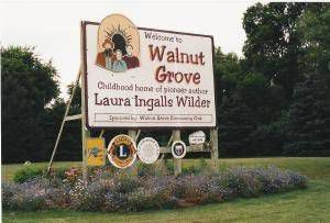Walnut Grove Little House Sign