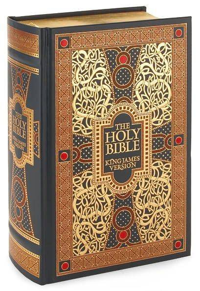 Barnes and Noble Leatherbound Hardcover Bible