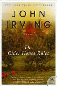 The Cider House Rules by John Irving cover