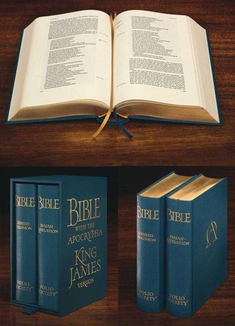 Folio Society King James Bible