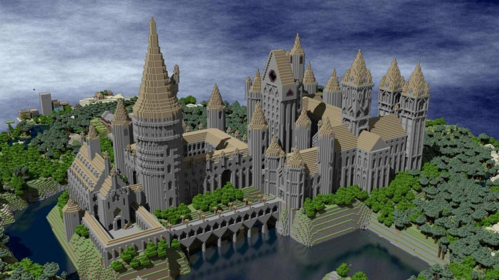 hogswart castle minecraft