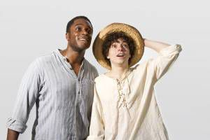 Huck Finn and Jim