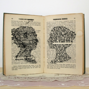 Book art from Lauren Dicioccio