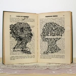 Book art from Lauren Dicioccio