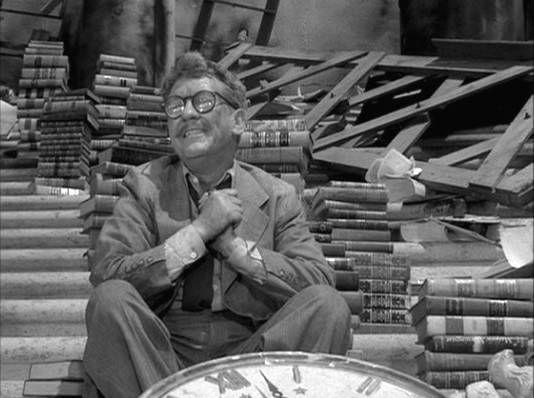 Twilight Zone Reading Guy