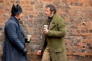 Jean Valjean and Javert coffee date
