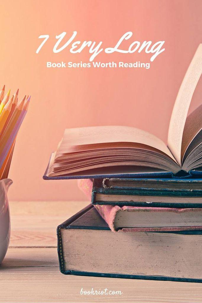 7 very long book series