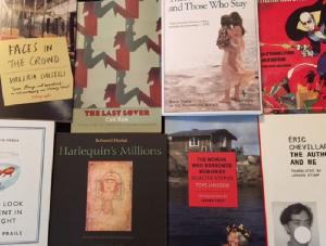 Book covers of BTBA finalists
