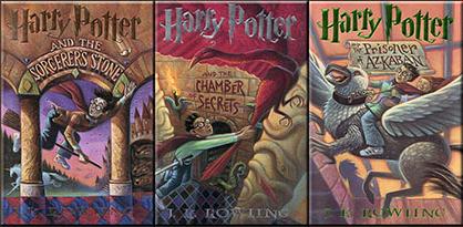Harry Potter Books 1-3