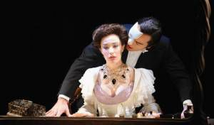 Photo from the musical Love Never Dies