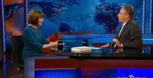 Stewart interviews Miller