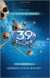 The Maze of Bones by Rick Riordan