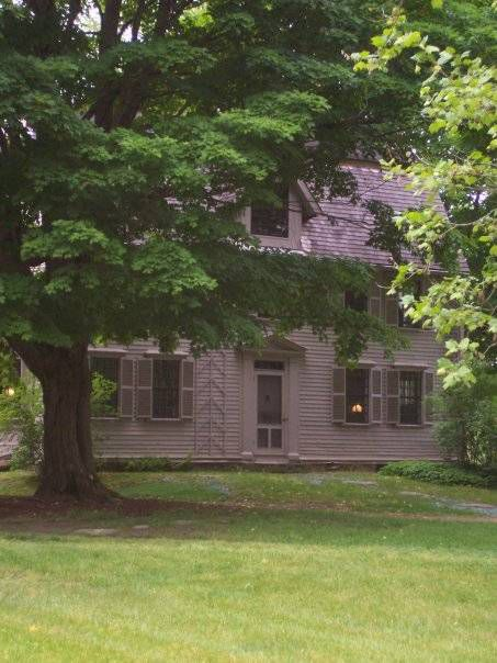 The Old Manse, Concord MA, Hawthorne's once-home