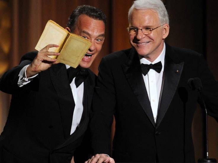 tom hanks steve martin selfie book