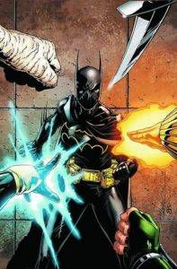Cassandra Cain aka Batgirl. DC Comics.