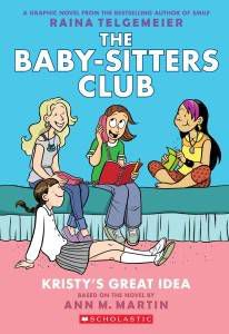 The Babysitters Club graphic novel cover