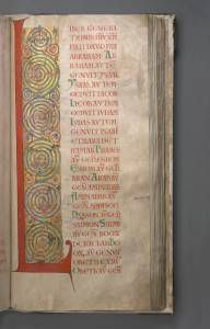 National Library of Sweden, Codex gigas, or The Devil's Bible, Gospel of Matthew, 254 r.