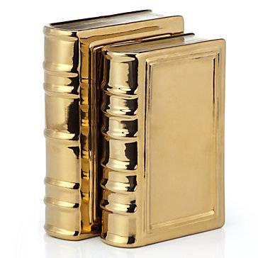 Gold Ceramic Books