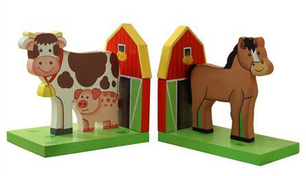 15 Kids' Room or Nursery Bookends for Young Bookworms