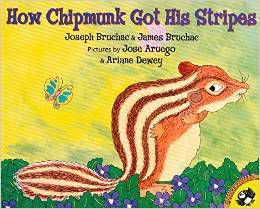 How Chipmunk Got His Stripe by Joseph Bruchac