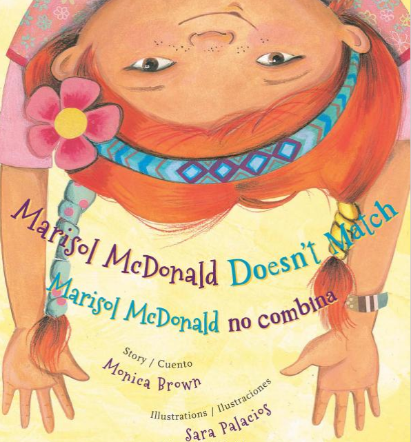Marisol McDonald Doesn't Match cover
