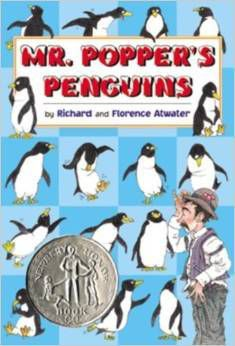 cover of mr poppers penguins