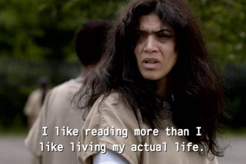 OITNB Books I Like Reading