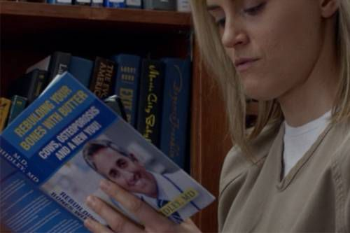 OITNB Books Piper Rebuilding Your Bones with Butter