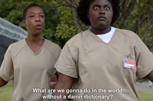 OITNB Books Poussey and Taystee Titles to Honor speech