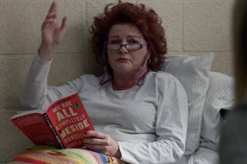 OITNB Books Red We Are All Completely Beside Ourselves