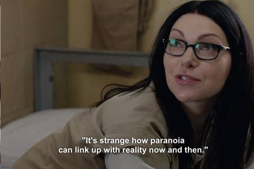 OITNB Books Vause quotes Philip K Dick
