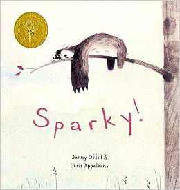 Sparky! by Jenny Offill & Chris Appelhams