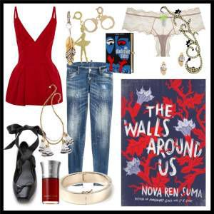 The Walls Around Us - Book Style