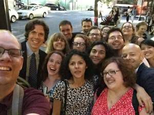 picture of the Book Riot gang at BEA