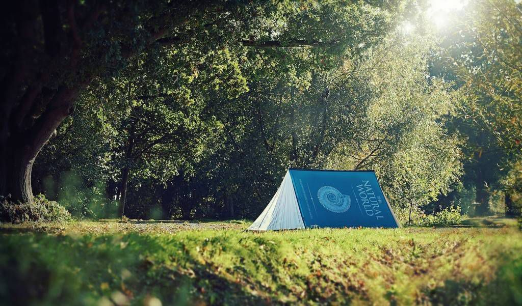 fully booked tent