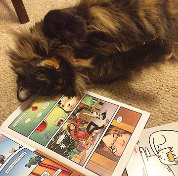 jesse cat comics book