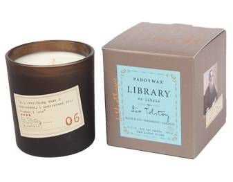 library collection candle paadywax