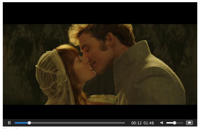 Mockingjay Part 2 screenshot of Finn and Annie